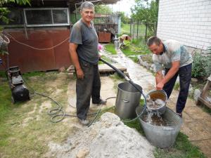 как почистить воду в колодце на даче