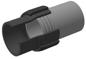 соединение пластиковых труб с металлическими без резьбы