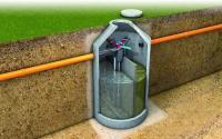 как сделать канализацию в частном доме своими руками из бетонных колец