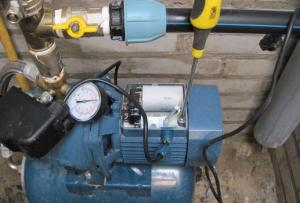 станция повышения давления воды для частного дома