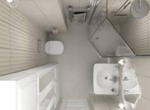 душевая кабина для маленькой ванной комнаты
