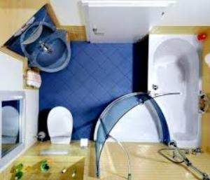 варианты душевых кабин для маленьких ванных комнат