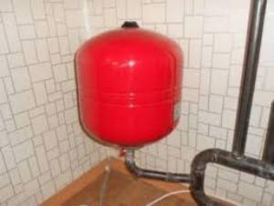 Объем расширительного бака для закрытой системы отопления