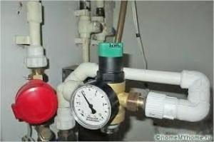 регулятор давления воды в квартире