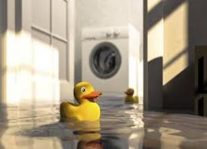 течь воды из под стиральной машины