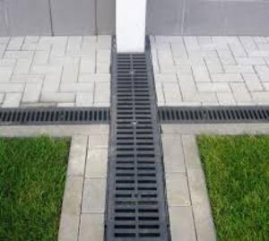 лоток водоотводный бетонный с чугунной решеткой цена