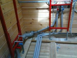 схема холодного водоснабжения частного дома