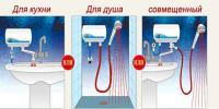 проточные водонагреватели электрические для душа