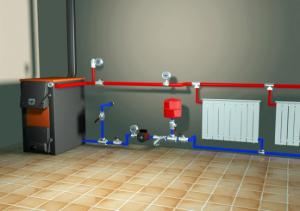 система отопления с гидроаккумулятором схема