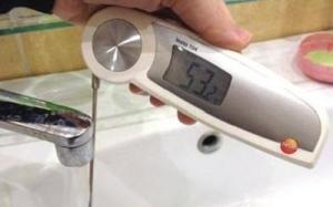 низкая температура горячей воды в кране