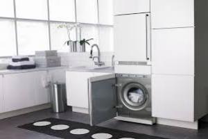 тумба под раковину со стиральной машиной