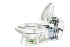 канализационный насос измельчитель для унитаза
