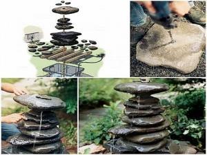 как сделать комнатный фонтан своими руками