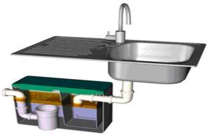 как подобрать жироуловитель для канализации из столовой