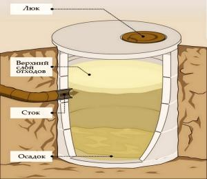 как вычистить выгребную яму в частном доме