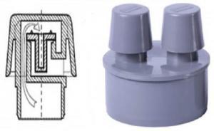 обратный воздушный клапан для канализации