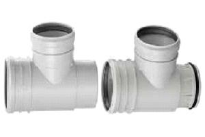 тройники пвх для канализационных труб