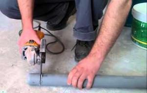 монтаж канализации из пластиковых труб цена работы