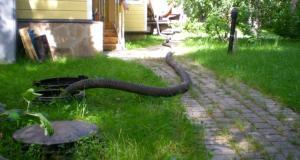выгребная яма своими руками для частного дома