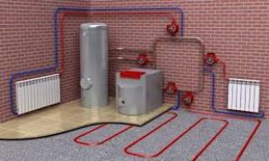 опрессовка системы отопления снип