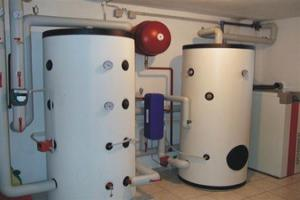 тепловой аккумулятор для отопления расчет