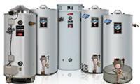 газовый накопительный водонагреватель с закрытой камерой сгорания