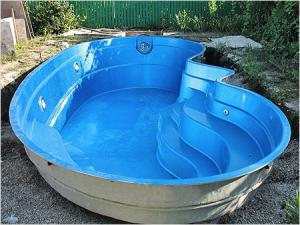 бассейн чаша из полипропилена