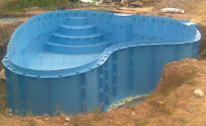 изготовить бассейн из полипропилена своими руками