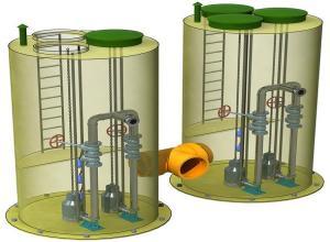 канализационная насосная станция типовой проект
