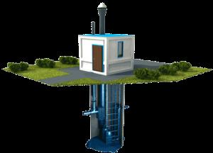 кнс канализационная насосная станция фото