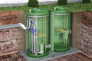 модульные канализационные насосные станции