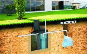 современный септик для загородного дома