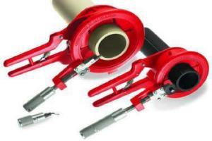 труборез ручной для стальных труб большого диаметра