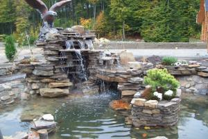 фонтаны водопады на даче своими руками фото