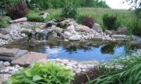 водопад на даче своими руками - мастер-класс с пошаговым фото