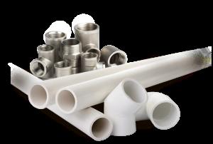 монтаж пластиковых труб для водопровода