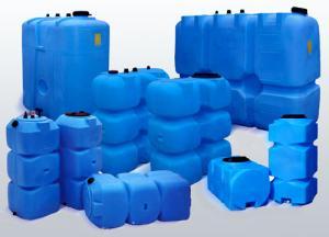 резервуары для воды пластиковые